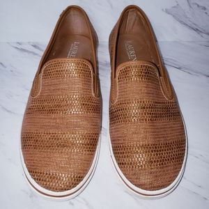 Lauren Ralph Lauren Woven Slip-on Shoes